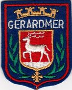 Gerardmer- Écusson Brodée Bon état - Escudos En Tela