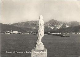 X173 Marina Di Carrara - Porto E Monti Apuani - La Madonnina - Panorama / Viaggiata 1966 - Carrara