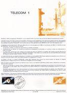 Document De La Poste - Histoire Du Timbre Poste - Télécom 1 - 1 Septembre 1984 - - Documents De La Poste
