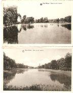 Zoet-Water ( Oud - Heverlee) : Zicht Op De Vijvers  ---- 2 Kaarten - Oud-Heverlee