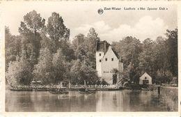 """Zoet-Water ( Oud - Heverlee) : Lusthuis """" Het Spaans Dak """" - Oud-Heverlee"""