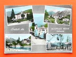 Cartolina Scopello Mera - 1963 - Vercelli