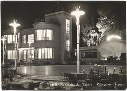 X189 San Benedetto Del Tronto (Ascoli Piceno) - Palazzina Azzurra - Notturno Notte Nuit Night Nacht Noche / Viaggiata - Italia