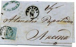 1864 Bologna // ST. POSTALE REGNO VE II - Marcophilie