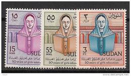Soudan - 1961 - N°Yv. 137 à 139 - Révolution - Neuf Luxe ** / MNH / Postfrisch - Soudan (1954-...)