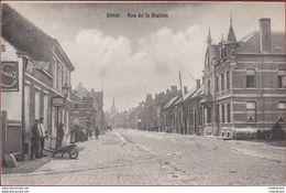 Geel Gheel Rue De La Station Geanimeerd (zeer Lichte Kreuk) 1909 Kempen - Geel