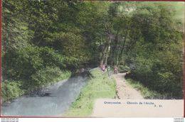 Overijse Overyssche Chemin De L' Arche Zeer Mooi Ingekleurd Photochromie Geanimeerd ZELDZAAM (In Zeer Goede Staat) - Overijse