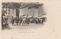 15 - CHAUDESAIGUES - Place Du Marché - Other Municipalities