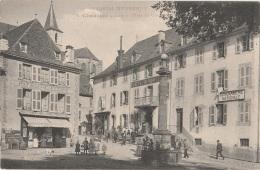 15 - CHAUDESAIGUES - Place Du Gravier - Pâtisserie [Paul Roux] - Gendarmerie (impeccable) - Other Municipalities