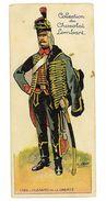 CHROMO IMAGE CHOCOLAT LOMBART SOLDAT N°11 HUSSARD DE LA LIBERTE 1792 - Lombart