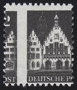 73 Bauten 2 Pf - Mit Markanter Senkrechter Verzähnung Durch Das Markenbild, ** - Zone Anglo-Américaine