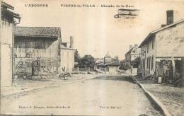 VIENNE LA VILLE CHEMIN DE LA GARE AVEC AVIATION PRECURSEUR  EDITION MOISSON - France