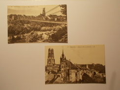 Carte Postale - Lot 2 CPA - SUISSE Fribourg (331/130) - FR Fribourg