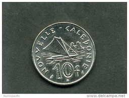Pièce De 10 Francs De Nouvelle Calédonie Année 2012 !! - Nouvelle-Calédonie