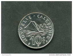 Pièce De 10 Francs De Nouvelle Calédonie Année 2010 !! - New Caledonia