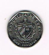 )  CUBA  10 CENTAVOS  1994 - Cuba