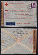 ROODE KRUIS - CROIX ROUGE / 1940 INDES NEERLANDAISES LETTRE CENSUREE POUR LA SUISSE - NED INDIES (ref 7621a) - Indes Néerlandaises
