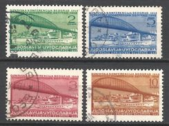 Yugoslavia, 1948 Year, Set, Used Stamps  MNH(0) Mi.# 548-51 - 1945-1992 Sozialistische Föderative Republik Jugoslawien