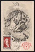 CROIX ROUGE FRANCAISE / 1951 INNSBRUCK - AUTRICHE OBLITERATION TEMPORAIRE SUR CARTE NUMEROTEE - PEU COMMUN (ref 7618) - Frankrijk