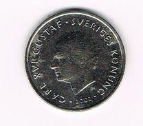 ) ZWEDEN 1  KRONA   2002 - Suecia