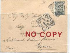 Conegliano 9.9.1917 Su Sassone N. 80, Per Gogna. - Storia Postale