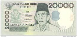Indonesia - Pick 138 - 20.000 (20000) Rupiah 1998 - 1999 - Unc - Indonesia
