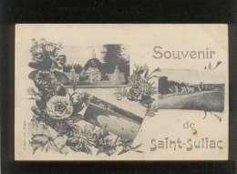 35 Souvenir De Saint Suliac Multivue 3 Vues édit. Sorel - Saint-Suliac
