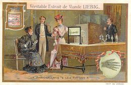 CHROMO LIEBIG - Inventions Du 19 ème Siècle - Série Française N° 898 - C ) La Radiographie & Les Rayons X Radiography... - Liebig