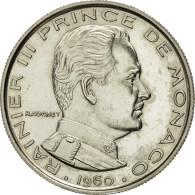 Monaco, Franc, Essai, 1960, SPL+, Nickel, KM:E38, Gadoury:150 - 1960-2001 Nouveaux Francs