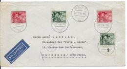 1938 - ENVELOPPE Par AVION De KÖLN => SURESNES - Alemania