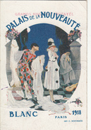 CPA Publicité COMMERCES  PALAIS DE LA NOUVEAUTE   Blanc 1918  Magasin DUFAYEL - Advertising