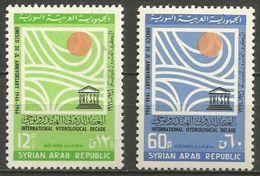 Syria - 1966 UNESCO Anniversary Set Of 2    MNH **  Sc C - Syria