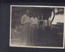 Saudi Arabia Original Photo Garten Of Iran Legation Jeddah Ahmed Shafik Husband Of Princess Ashraff (2) - Iran