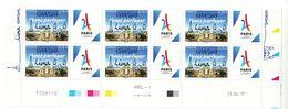 Bas De Feuille Paris 2024 Surchargé Lima - Dated Corners