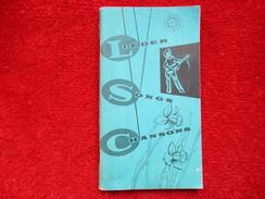 Lieder Song Chansons / éditions De 1959 - Books, Magazines, Comics