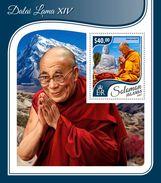 SOLOMON Isl. 2017 - Dalai Lama XIV, S/S - Buddhism