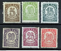 España 0745/750 ** Cifras. 1938 - 1931-Hoy: 2ª República - ... Juan Carlos I