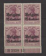 Belgien,6b HAN,xx, - Besetzungen 1914-18