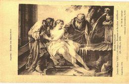 CPA N°10452 - NANTES - MUSEE DES BEAUX ARTS - ECOLE FRANCAISE - JOSEPH MARIE VIEN 1716-1809 -SUZANNE ET LES 2 VIEILLARDS - Nantes