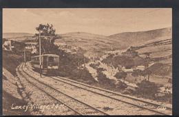 Isle Of Man Postcard - Laxey Village - Railway Line  DC761 - Man (Eiland)