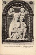 Cartolina Antica VERNA (Arezzo), LA MADONNA COL BAMBINO Di A. Della Robbia (Refettorio Del Convento) - OTTIMA N82 - Sculture