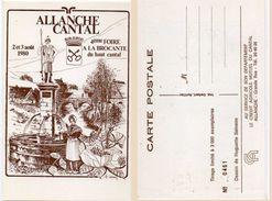 SAINSON Huguette - ALLANCHE (Cantal) 4° Foire A La Brocanter (é & 3 Aout 1980 - Tirage Limité  (100305) - Andere Zeichner