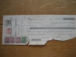 BRUGGE - Lettre De Change De 1922 De La MANUFACTURE GENERALE BELGE DE TABACS & CIGARES à BRUGES - Lettres De Change