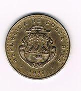 ¨  COSTA RICA  50 COLONES  1999 - Costa Rica