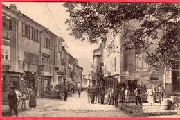 CPA 05 EMBRUN Place St Martin Et Rue Clovis - Embrun