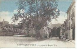 LE BOUSQUET D'ORB - AVENUE DU PONT D'ORB  ( Animées ) - Frankreich