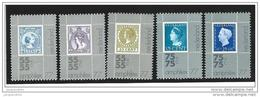 Nederland  ....  NVPH  ....     1098/1102        ....   **  ....  Postfris .... MNH ....  Postfrisch .... Neuf ** - Periode 1949-1980 (Juliana)