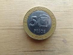 Dominicaine  5  Pesos  2002  Km 89 - Dominicana