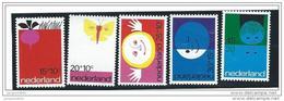 Nederland  ....  NVPH  ....    996/1000     ....   **  ....  Postfris .... MNH ....  Postfrisch .... Neuf ** - Periode 1949-1980 (Juliana)