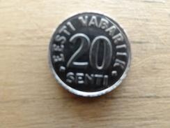 Estonie    20  Senti  1999  Km 23 - Estonia